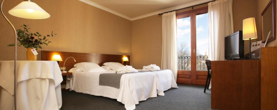 hotel hostal sport - habitación superior