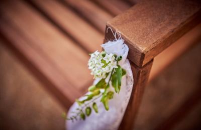 Decoration details of ceremony
