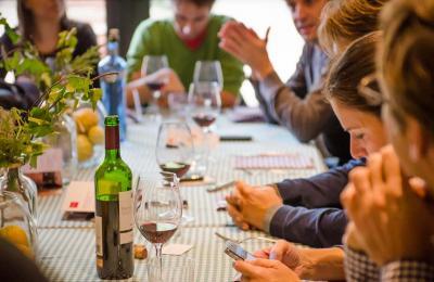 Restaurant Sport_esmorzar de forquilla amb vins Scala dei