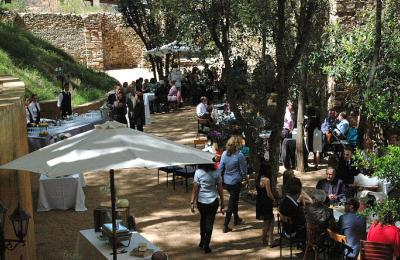 garden hotel catering Tarragona, Celebrations Garden Hotel Priorat, restaurant Priorat weddings, hotel restaurant celebrations Catalonia,