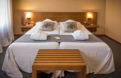 Habitació hotel rural priorat