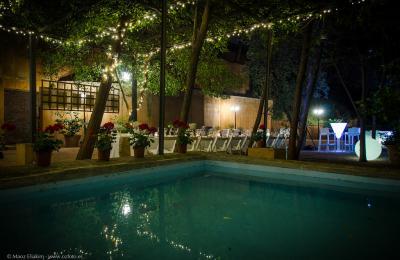 Celebracions al jardí de l'hotel