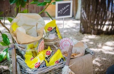 Celebracions als espais de l'hotel rural del priorat