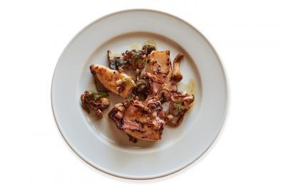 Restaurant Hostal Sport Falset - calamarsets a la planxa