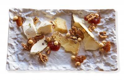 Restaurant Hostal Sport -  formatges artesans amb confitures
