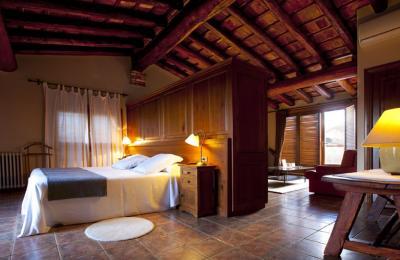 habitació suite d'hotel al priorat