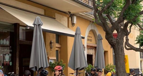 bicicleta hotel hostal sport
