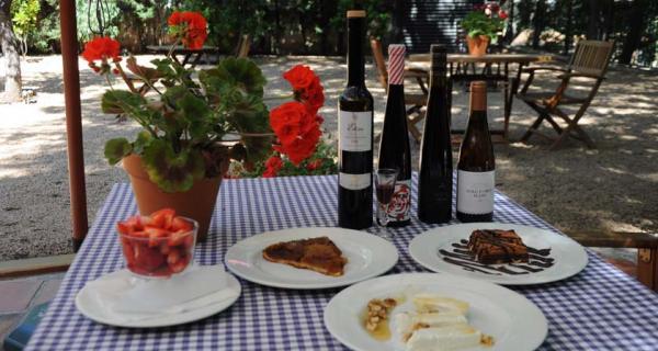 Postres maridats amb vins dolços del Priorat