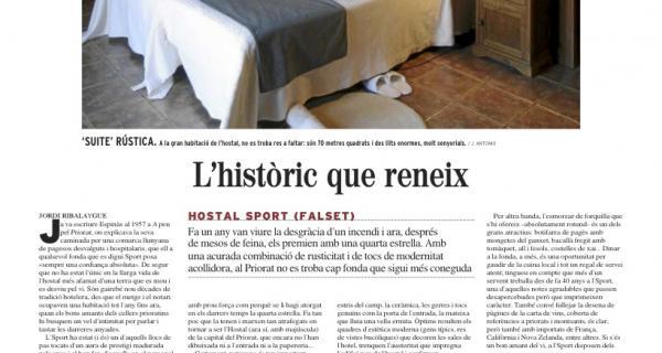 Artículo del periódico El Mundo