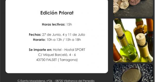 """""""English for wine tasters"""" a l'Hotel-Hostal Sport"""