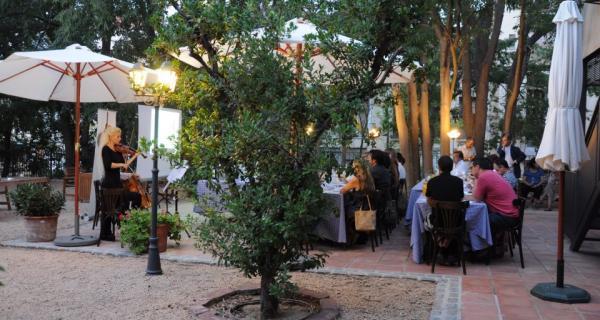Tast als jardins de l'Hotel Hostal Sport