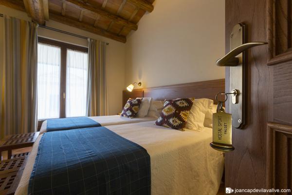 Habitaciones de hotel en el Priorat