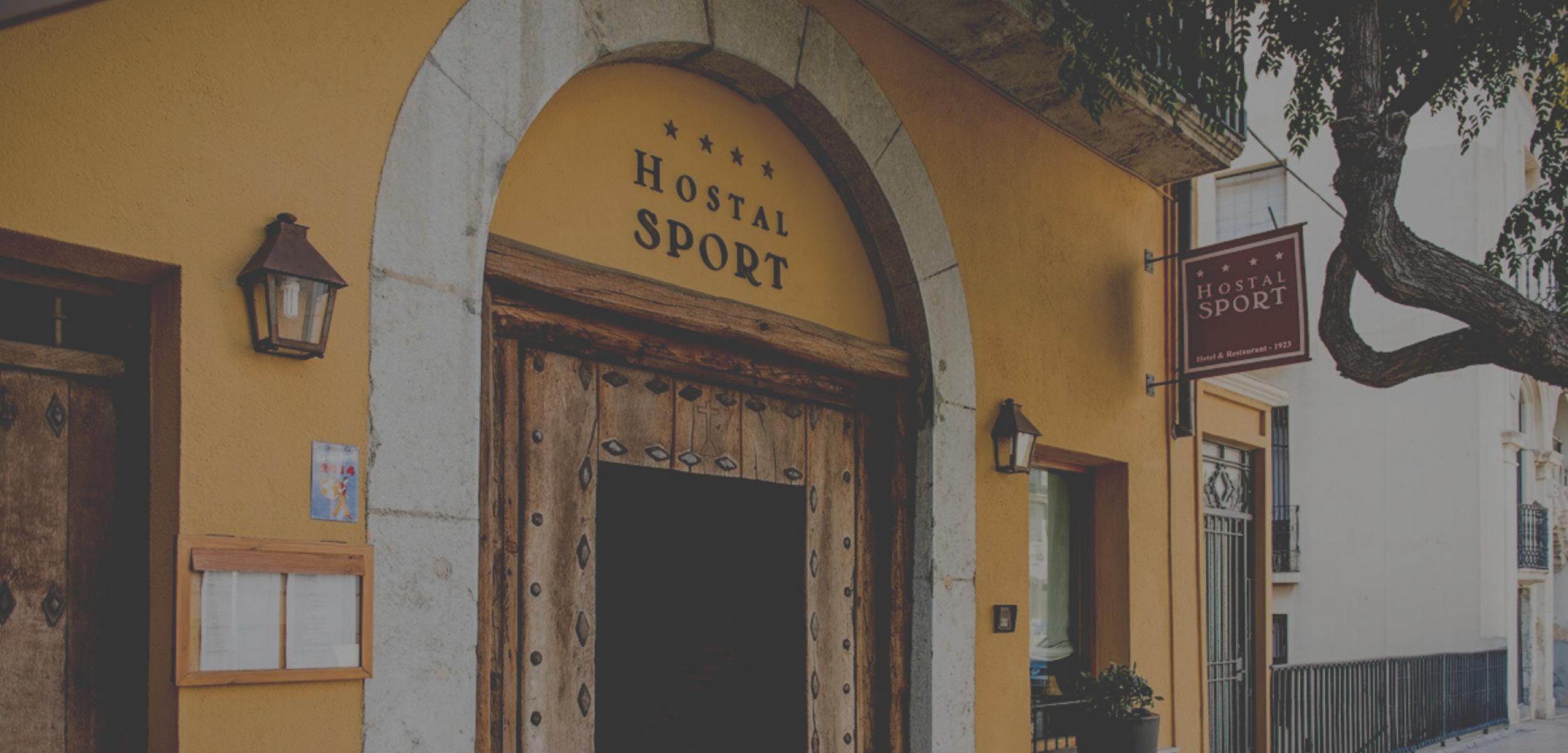 Hotel-Hostal Sport, un Hotel en el Priorat con encanto