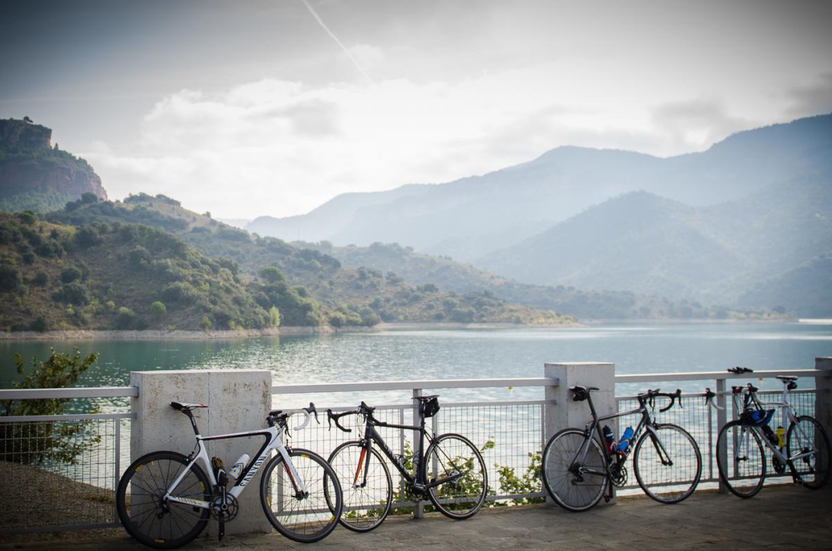 Ciclisme al pantà de Siurana, Priorat