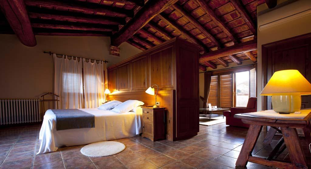 suite mansarda hotel priorat