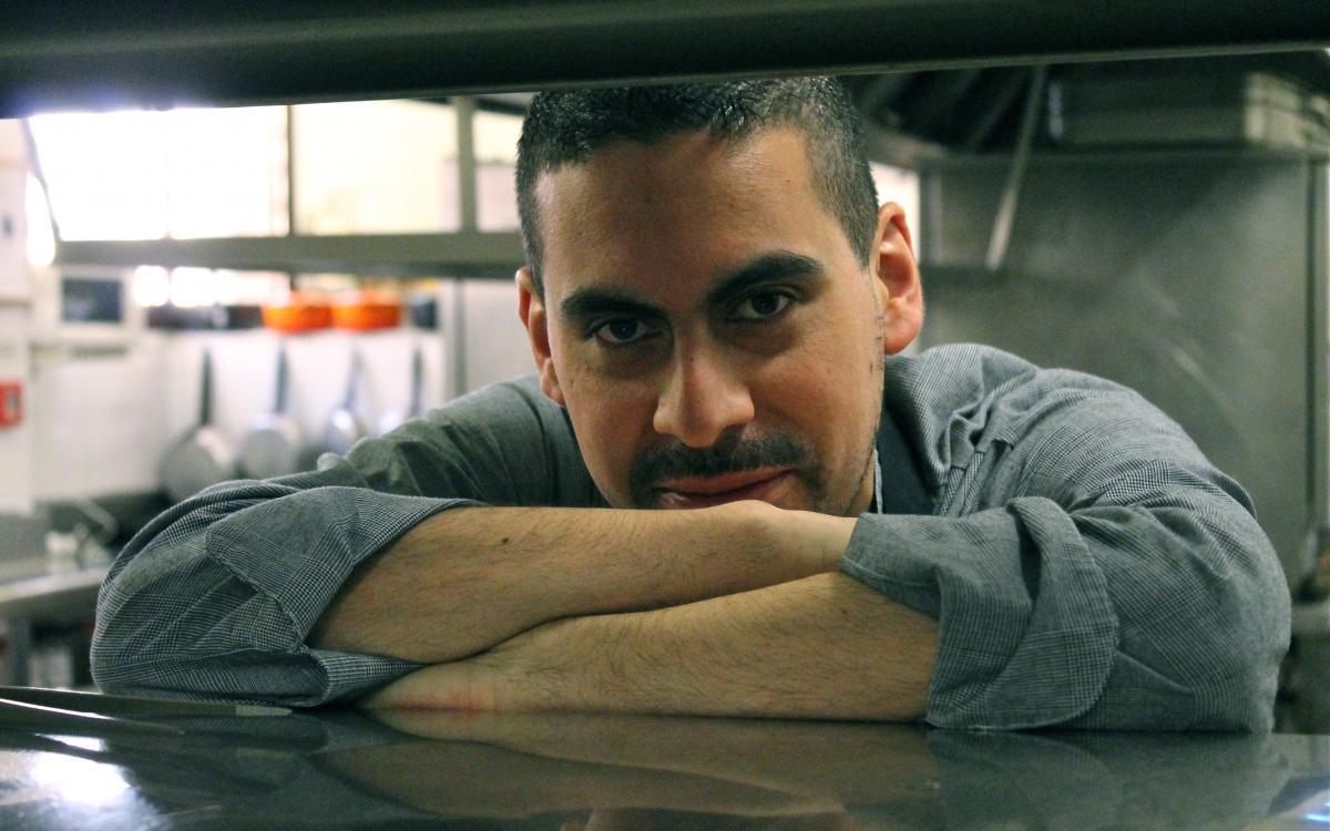 Omar Morales, cuiner del restaurant Hostal Sport