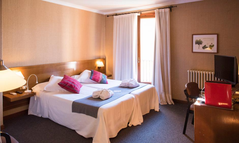 Habitació doble hotel rural priorat