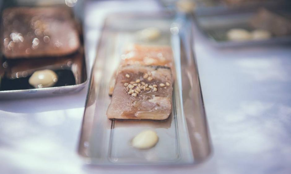 Càtering celebracions - tataki de tonyina
