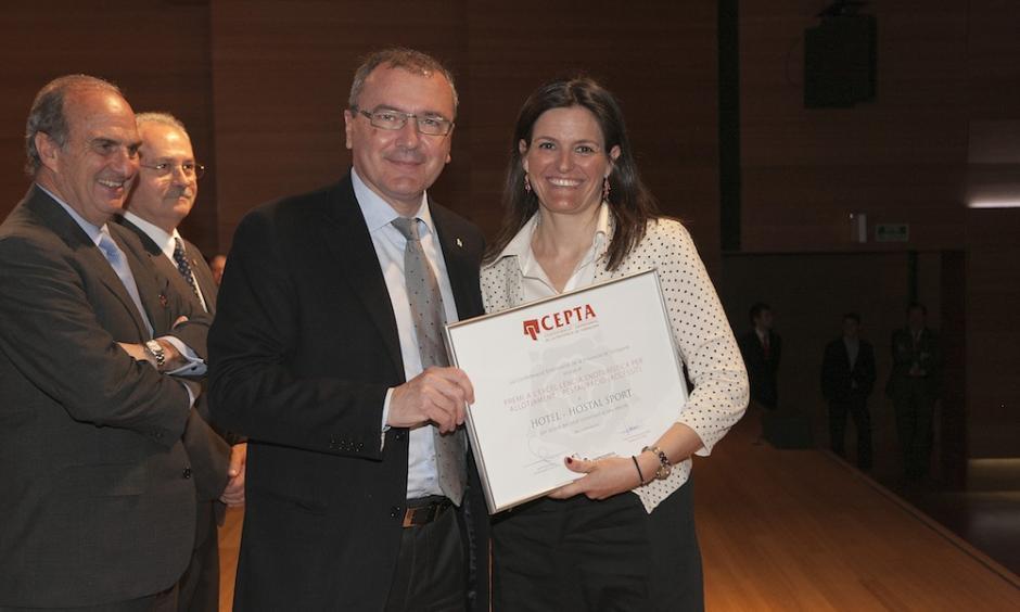 Premi a l'Excel·lència Enoturística per Restauració i Allotjament 2013