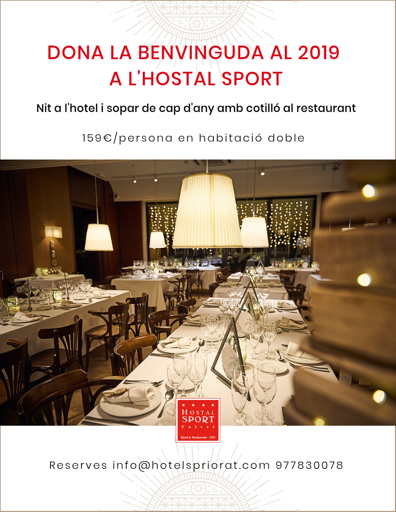 Cap d'Any Hostal Sport Priorat