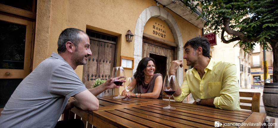 Hotel and winetourism in Priorat Region